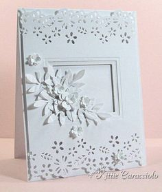 White on White by kittie747 - Cards and Paper Crafts at Splitcoaststampers