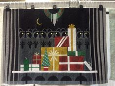 New Christmas quilt inspired by Charley Harper called Gift Rapt.   Available from Keri Designs.