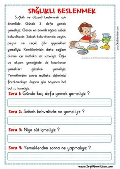 Turkish Lessons, Learn Turkish Language, Picture Composition, Reading Passages, School Counseling, Kids And Parenting, Elementary Schools, Kindergarten, Homeschool
