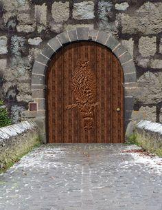 Old Castle Doors | About The Book & castle drawbridge | Old castle door and drawbridge - stock photo ... Pezcame.Com