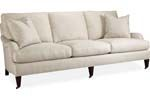 Lee Industries - Slipcovered Sofa C1573-03 SLIPCOVERED SOFA OVERALL  W89D40H35 INSIDE  W79D24H16   SEAT HT  18 ARM HT  22 BACK RAIL HT  32