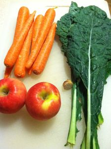 Kale Carrot Apple & Ginger Juice