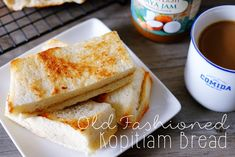 Old Fashioned Kopitiam Bread | The Fatty Rie, A Singapore Parenting, Food & Cooking Blog