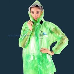 Picture 4 of 12 #RaincoatsForWomenPolkaDots