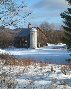 Barn in Vermont**