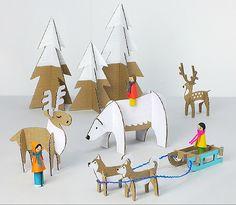 Pranzi di Natale, vacanze o week end d'inverno senza annoiarsi? Ci sono i giochi creativi da costruire con i più bei free printables. Scaricali qui.