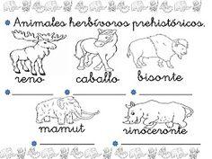 clase de infantil: FICHAS DE LA PREHISTORIA Stone Age, Homeschool, 1, Album, Teaching, Animals, Man Cave, Spanish, Primitives