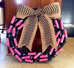 Shotgun shell wreaths that are made to by southerngrownstuff