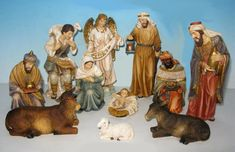 Heaven's Majesty Nativities, Statues and Wall Crosses