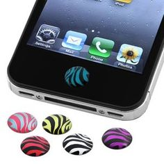 iPhone button stickers
