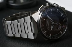Citizen Eco-Drive Satellite Wave F100 GPS Watch Hands-On