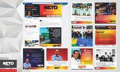 Vereador Neto | Gerenciamento e criação de conteúdo, atualização e análise das redes sociais