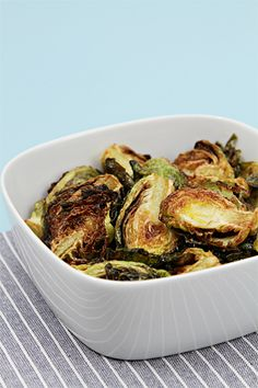 Flash-Fried Brussels Sprouts With Garlic and Lime | HuffPost