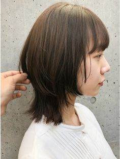 Asian Haircut Short, Asian Short Hair, Short Hair With Bangs, Girl Short Hair, Japan Hairstyle, Elegant Short Hair, Mullet Hairstyle, Shot Hair Styles, Funky Hairstyles