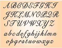 Worksheets Pinakatay Alphabet calligraphy alphabet cursive and on pinterest