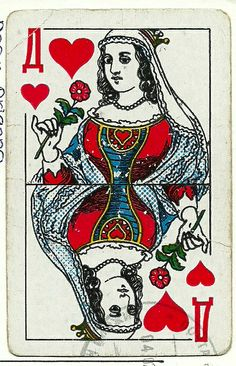 Russian playing card