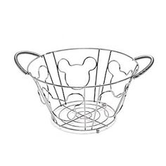 Disney Mickey Mouse Fruit Basket | Disney StoreMickey Mouse Fruit Basket - When you need somewhere to keep all that lovely fresh fruit, you need a mouse! Standing on three feet, this wire basket features comfy handles and is decorated with Mickey Mouse silhouettes.