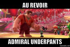 Hahaha....We say this to each other all the time! Favorite line from Wreck It Ralph. :)