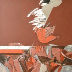 São Mamede - Galeria de Arte Rocha de Sousa O Pombo 1989 Acrilico x Tela 100 cm x100 cm