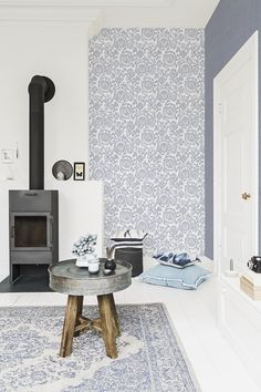 BN Wallcoverings collection wallpaper Denim. #interior #behang collectie 2015 #woontrend #jeans blauw http://www.decohome.nl/assortiment/behang/collecties-behang/bn-wallcoverings-denim