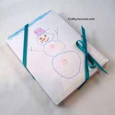 Turn a Christmas Card Box into a Gift Box - Idea #2 by Crafty Journal