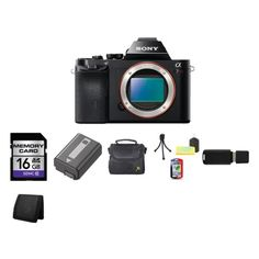Sony a7R 36.4 MP Interchangeable Digital Lens Camera Body Bundle 1 *** Details can be found by clicking on the image.
