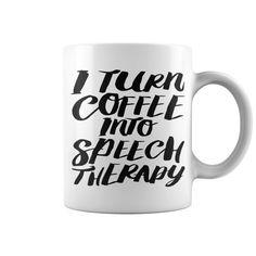 Coffee Into Speech Mugs & Drinkware mug