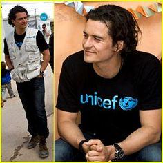 Orlando Bloom for Unicef