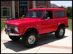 1977 Ford Bronco ~ So in love with this <3