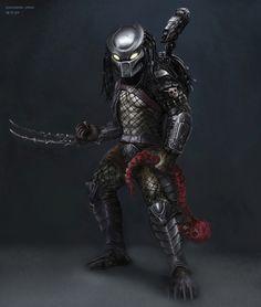 Predator Movie, Predator Alien, Fantasy Wizard, Fantasy Art, Alien Creatures, Alien Art, Xenomorph, The Revenant, Sci Fi Characters