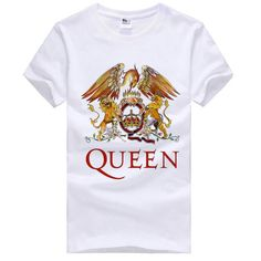 Rock Band Queen Phoenix and Tiger logo t shirt - Tshirtsky