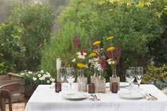 Mesas decoradas para eventos, estilismo con flores.  #Mesas #eventos #estilismo #flores #hotel #cenas #campestre