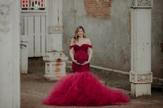 Stacey elegant maternity gown - Miss Madison Couture | Gowns for Bridal and Photography