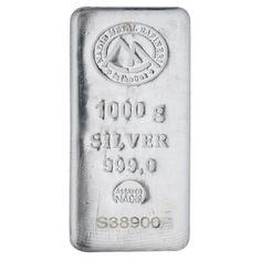 Nadir Silver Bar - 1 kg   VAT FREE