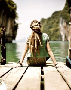 dreads on the dock