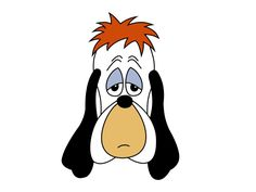 Droopy is an animated cartoon character: an anthropomorphic dog with a droopy face, hence the name Droopy. He was created in 1943 by Tex Avery for theatrical cartoon shorts produced by the Metro-Goldwyn-Mayer cartoon studio.