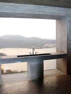 Banheiro de Concreto