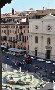 Piazza Navona da Palazzo Braschi 1 | Flickr – Condivisione di foto!