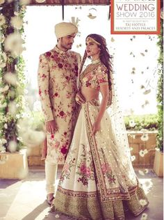 Here are the best Pakistani and Indian matching wedding dresses for bride and groom in There are the unique bride and groom dress color combinations.