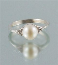 Classic Pearl Ring from Delta Shop