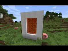 a quick tutorial showing in minecraft how to make a portal to candyland just in case you wanna have a tasty adventure then I will show you how to make a port. Minecraft Mobile, Minecraft Portal, Minecraft Seed, Minecraft Cheats, Minecraft Plans, Minecraft Videos, Amazing Minecraft, Minecraft Tutorial, Minecraft Blueprints