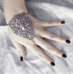 Cassandra Slave Bracelet GORGEOUS Antiqued by ghostlovejewelry, $28.00