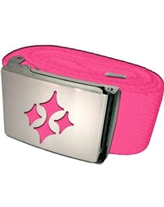 raspberry is the perfect summer color. Love this ladies golf belt | #golf4her