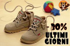 Kickers Autunno/Inverno -30%  Offerta valida fino a lunedì 16 settembre. Approfittane subito!  http://www.scarpebambinoshop.com/offerte/scarpe-autunno-inverno/?subcats=Y&features_hash=V151