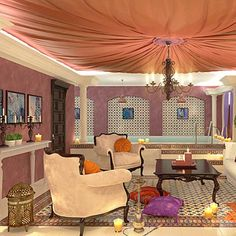 modern interiors and room colors for home decorating