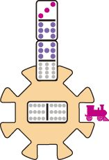 How to Play Mexican Train Dominos – Yellow Mountain Imports - Kinderspiele Family Card Games, Fun Card Games, Fun Games, Game Cards, Games To Play With Kids, Water Games For Kids, Games For Girls, Kid Games Indoor, Indoor Activities