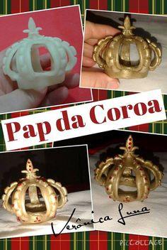 Pap da coroa em biscuit