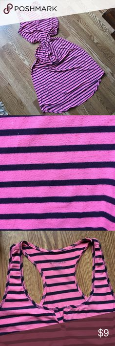 Pink and navy striped maxi Pilling throughout as pictured in second pic. Well worn- reposh Xhilaration Dresses Maxi