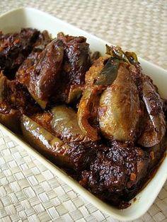 Gutti Vankaya ~ Stuffed Eggplant Roast - Indian Food Recipes | Andhra Recipes | Indian Dishes Recipes | Sailu's Kitchen