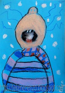 Kids Artists: grade 3 Writing a descriptive on catching a snowflake! Classroom Art Projects, Art Classroom, Kids Art Class, Art For Kids, Happy Monster, Winter Art Projects, Diy Projects, Drawing Sheet, Black Construction Paper